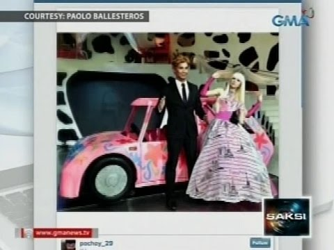 Saksi: Marian Rivera at Paolo Ballesteros, nagbihis ala-Barbie at Ken