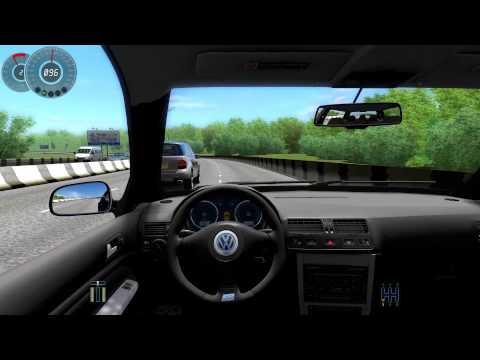 #083 Let's Play City Car Driving - VW Golf R32