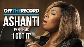 Ashanti Performs Her New Single