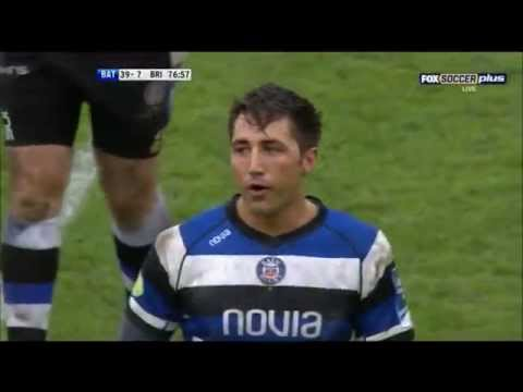 Gavin Henson excellent performance vs Brive 2014 klip izle