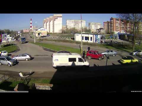 ДТП в Серпухове. Московское ш., перекр. с ул.Новая. 02-05-2013
