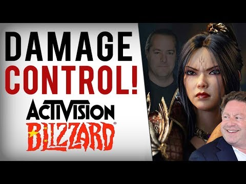 Blizzard LIES With Pathetic Response To Boycott/Protest, Critics CyberAttacked & 1,000 Year Bans!