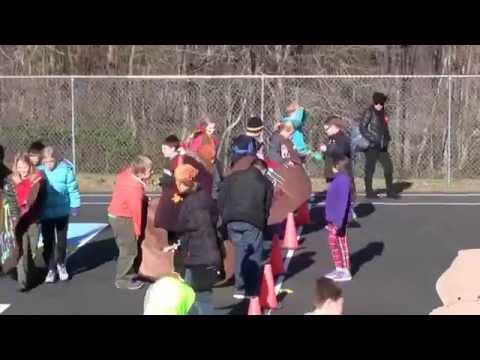 Algonkian Elementary 5th Grade Turkey Races November 2014