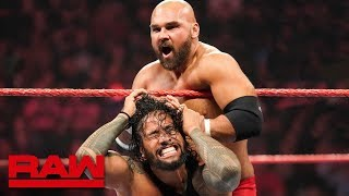 2-out-of-3 Falls Six-Man Tag Team Match: Raw, July 15, 2019