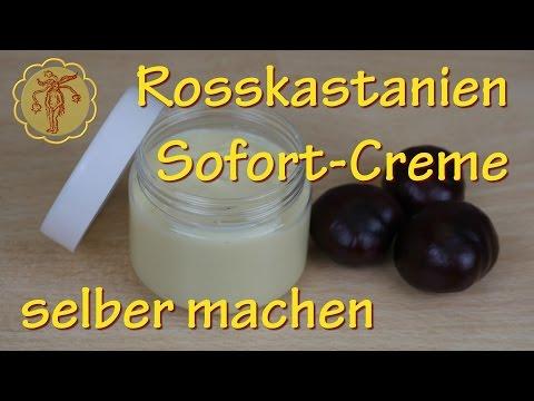 Rosskastanien-Sofortcreme selber machen - gegen Krampfadern #2