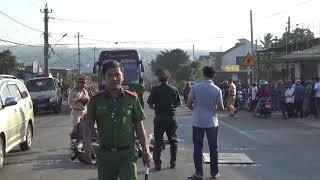 Lộ diện xe tải tông chết trung úy quân đội