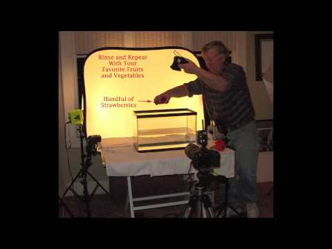 How to do high speed tabletop photography