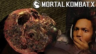 A KISS DID ALL THIS!? (real talk, I'm about to vomit in this sucka) | Mortal Kombat X #8