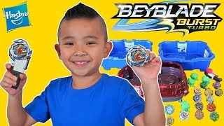 BEYBLADE Burst Turbo SLINGSHOCK Epic Battle With CKN Toys