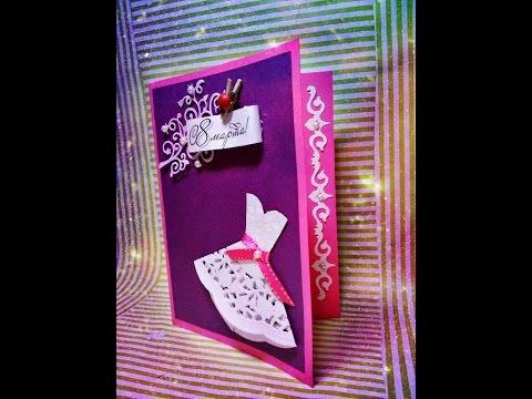 Поделки и открытки к 8 Марта своими руками