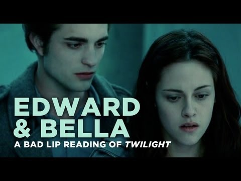 &quot;Edward and Bella&quot; &acirc; A Bad Lip Reading of Twilight