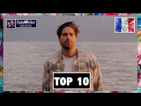 TOP 10 | EUROVISION 2020 | W/ FRANCE