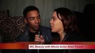 MC Beauty Interviews Movie Actor Allen Payne