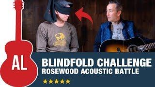 Blindfold Challenge (Gibson vs Martin vs Taylor vs Guild vs Yamaha vs Eastman)