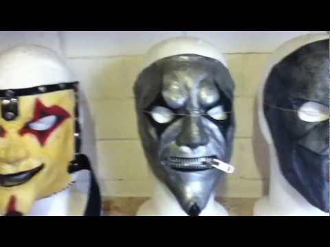 Slipknot Mask Update, Vol.3 and AHIG micks, vol.3 jester, iowa jester, 2011 jester