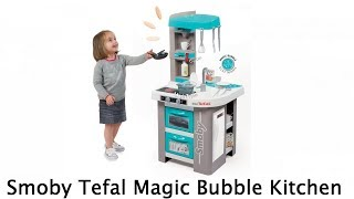 Smoby Kids Tefal Magic Bubble Childrens Toy Kitchen