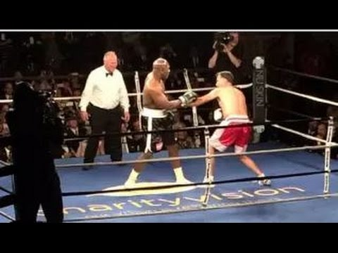 Mitt Romney vs Evander Holyfield Fight Highlights 5 15 15 ROMNEY GETS KNOCKDOWN MY THOUGHTS/REVIEW
