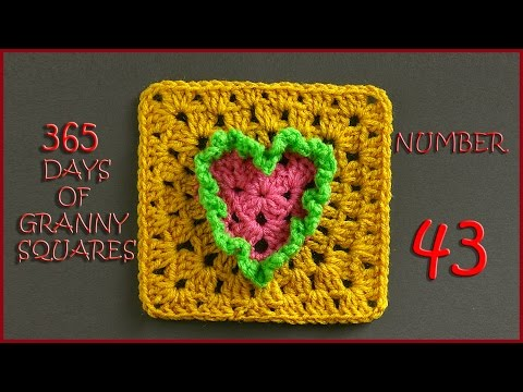 365 Days of Granny Squares Number 43