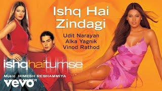 Ishq Hai Zindagi - Official Audio Song | Ishq Hai Tumse | Udit Narayan | Alka Yagnik