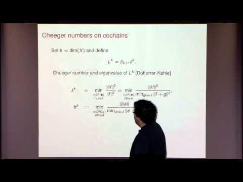 Random Walks on Simplicial Complexes and Isoperimetric Inequalities
