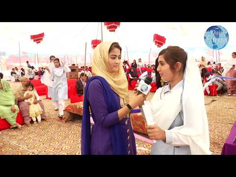 Beautiful Pakistani Collage Girl Singing with Young Anchor for 1 Day