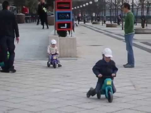 Детская тренировка к Формуле 1 в Будапеште.