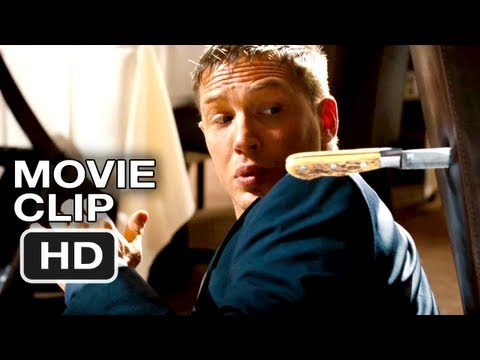 This Means War #1 Movie CLIP - Restaurant Fight - Tom Hardy, Chris Pine Movie (2012) HD