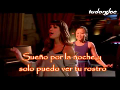 Every breath you take - Glee version - Spanish (letra en español) - Lea Michele