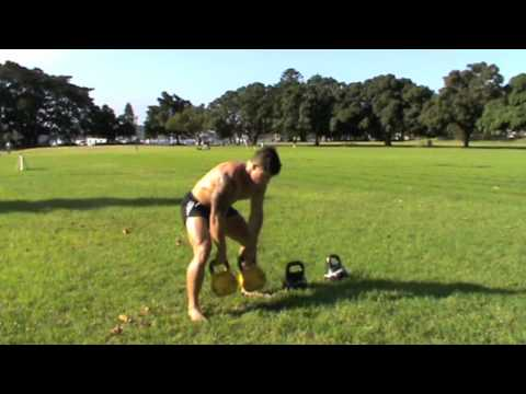 Fat Shredding HIT Workout with Kettlebells - Kris Cochrane Image 1