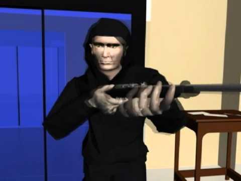Crime Scene Reconstruction, Forensic 3D Animation