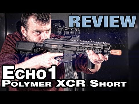 Echo1 XCR Polymer Short Review & Shooting Test - EpicAirsoftHD