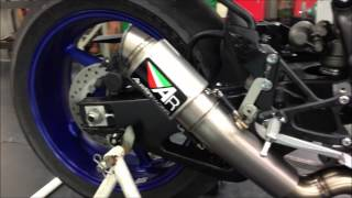 R1 Crossplane Vs S1000RR Austin Racing Exhaust Sound!