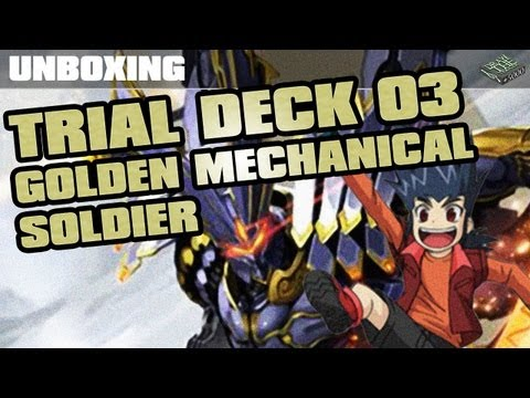 Unboxing TD-03 Golden Mechanical Soldiers