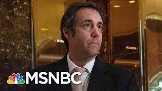 President Donald Trump's Personal Lawyer Asked For Info In Russia Probe | MSNBC
