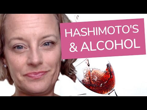 Can You Drink Alcohol With Hashimoto's?