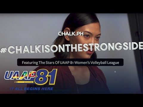 UAAP 81 Womens Volleyball players in ChalkPH
