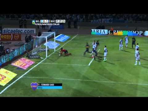 Un parto y a la punta: Boca venció 1 a 0 a Belgrano