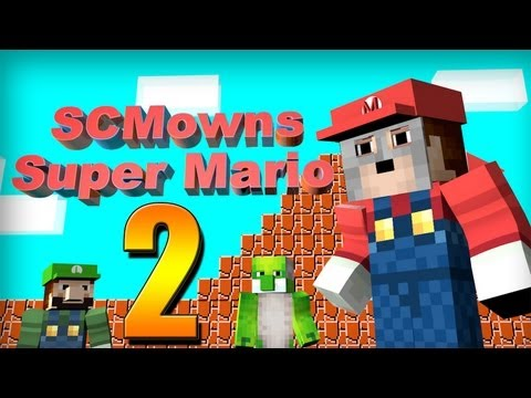 Minecraft - Super Mario Bros Mini-game Part 2! - PEACH!