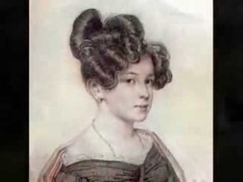 "Александр Сергеевич Пушкин  - ""Я помню чудное мгновенье"" (1825)"