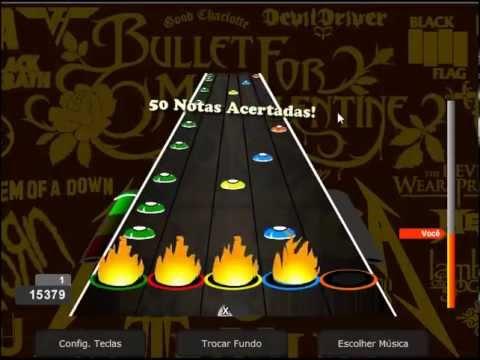 Soy un Cacahuate Bob Esponja Nivel 7 Guitar Flash Custom
