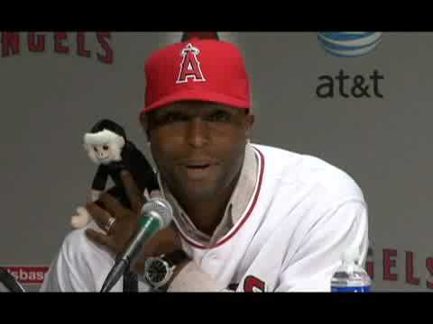 Torii Hunter gets rally monkey off his back Video