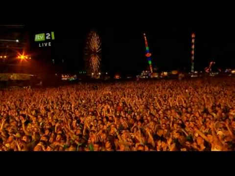 Jay-Z brings out Kanye West for Run This Town, Isle of Wight Festival '10