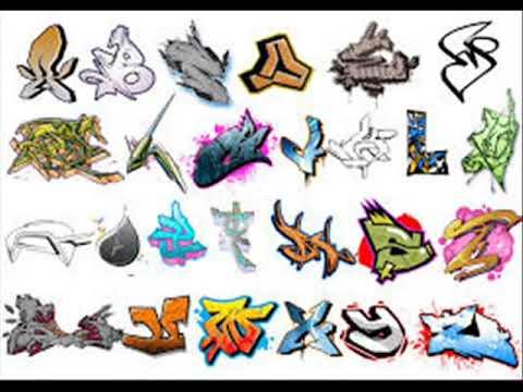 Letras de Grafitis