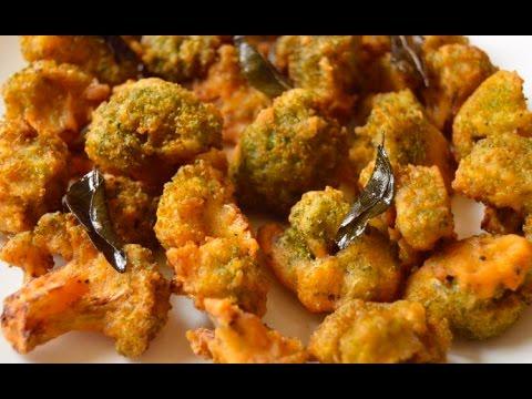 Crispy Broccoli 65 - Tea Time Snack   Jill's Kitchen
