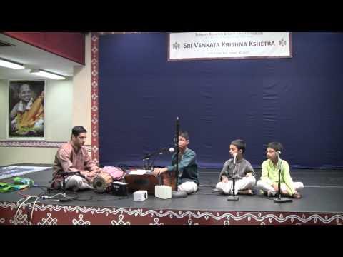 Mata Bhavani - Bhajan - Sri Shankar Mahadevan - Shri Sharatchandra Bhargav - Mridangam video