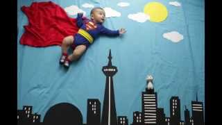 Superman or Superboy - Clarkie the most awesome superhero!