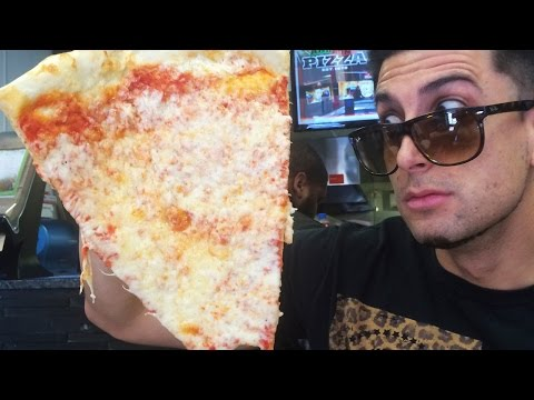 WORLDS BIGGEST SLICE OF PIZZA