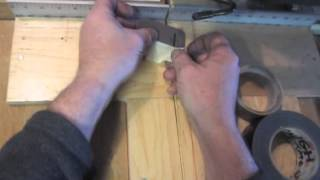 TINY TIPS -  How to Make Tape Handles to Cut Tiny Parts with a Saw