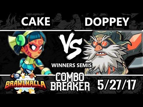 Combo Breaker 2017 Brawlhalla - [R]eason | Cake (Queen Nai) vs Vexx | Doppey (Ulgrim) - WS