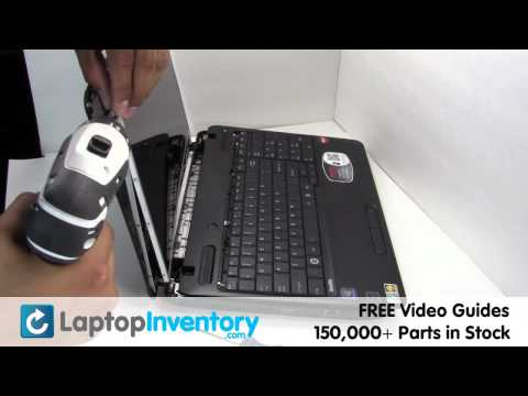 How To Replace Lcd Laptop Screen Toshiba